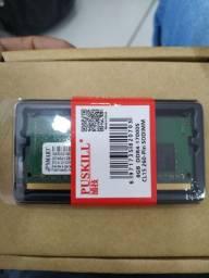 Memória DDR4 4GB