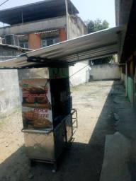 Barraca de churros de inox