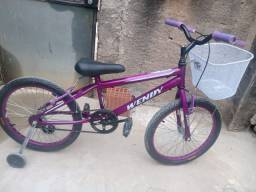 Vendo Bicicleta Wendy aro 20 lilás