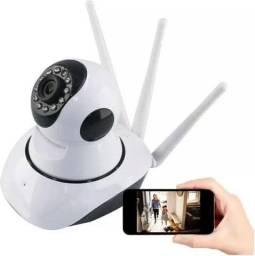 Câmera 360 wifi + cartão de memória