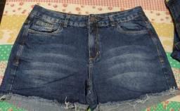 Bermudas jeans tamanho 42