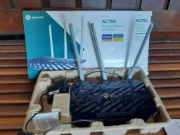 Roteador Wireless 300 Mbps TP-Link Archer C20 AC750<br><br>