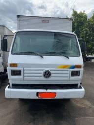 VW 8140 , baú 5,5 m 1999