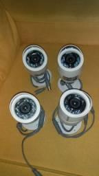 Câmeras de segurança infra vermelho Hikvision