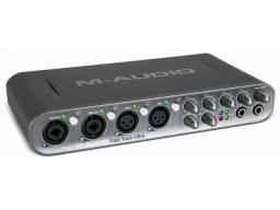 Placa Fast track ultra m-audio