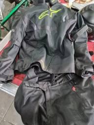 Jaqueta e calça motociclista original alpinestars