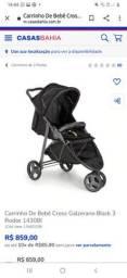 Vendo carrinho de bebê unissex