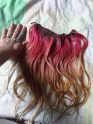 Aplique de cabelo humano brasileiro