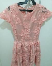 Vestido Rosa Antigo