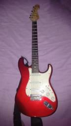 Preço de desapego (Guitarra Tagima Vermelha + Cubo Oneal