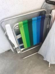 Cadeira de praia - Só  R$ 80,00 as duas unidades