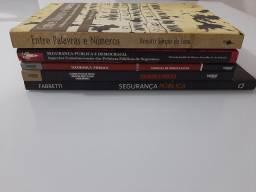 Kit Livros de Segurança Pública