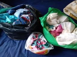 Doação de saco de retalhos