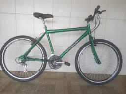 Bicicleta aro 26 aero nova verde