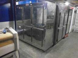 Geladeira industrial inox - 6 portas reformado e com garantia