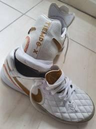 Chuteira/ Tênis de Futsal Profissional Nike Tiempo X R10 N° 38
