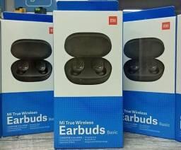 Fone de ouvido xiaomi Earbuds basic 100% original Caixa lacrada Versão global