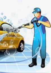 Vaga de lavador de veículos (homens e mulheres)