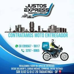 Vagas para moto entregador