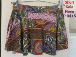 Shorts Novos e Usados P/M