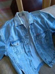 Relíquia jaqueta retro jeans collci original de época decada 90 estilo -160 reais