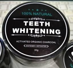 Pó Clareador Dental 100% Carvão Ativado O Melhor Original