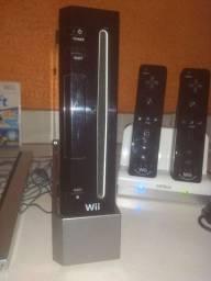 Wii Preto Console e acessórios
