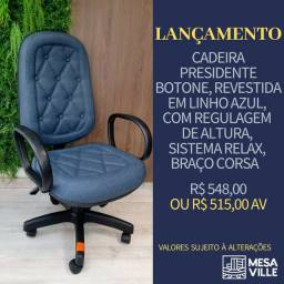 Cadeira Presidente Botone