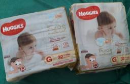 Fralda Huggies Puro e Natural