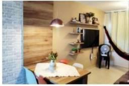 Apartamento mobiliado de 02 quartos em ponta de Campina