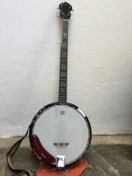 Banjo franciscan  segundo  o dono pouco usado modelo 220M