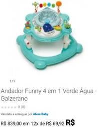 Andador Galzerano 4em1