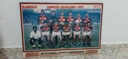 Poster retrô do Flamengo de 1992