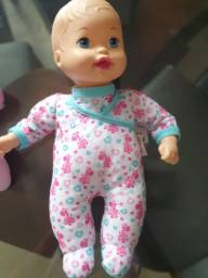 Boneca litle mommy