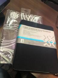 Capa protetora Notebook 15 By Spiral Novas na embalagem