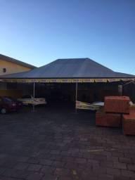 Lona\Toldo (garagens de carros; estacionamento rotativo)