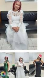 Vestidos de noiva e festas 80reais