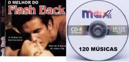 CD O Melhor do Flash Back Internacional 120 Músicas
