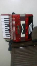 Vendo acordeon praticamente sem uso nova 2900