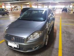Fiat Linea 2010, 1.9 HLX, Cinza, Completo com GNV