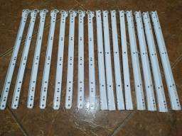 Kit com 4 corrediças completas para gavetas