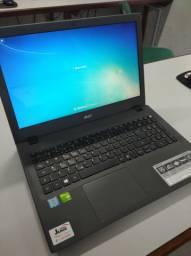 Notebook Acer Core i5, Memoria 8GB, Placa de Video dedicada 2GB