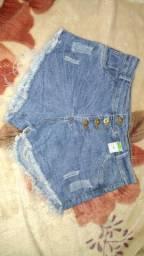 Shorts novos N° 46
