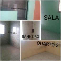 Alugo casa de 2/4 em condomínio residencial 450,00 R$