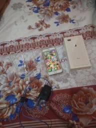 iPhone 8 Plus semi novo vendo ou troco