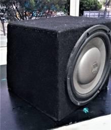 Módulo amp + caixa selada c/ sub
