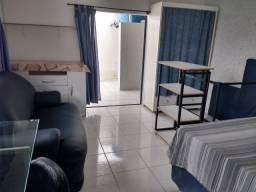 Duplex 40m2,mobiliado,churrasq,microondas,internet300mb,garagem,adulto não fumante