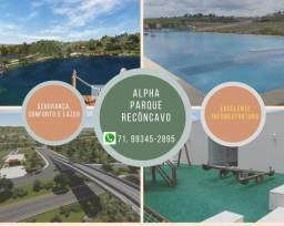 Oportunidade: Lotes 360 m², Alpha Parque Recôncavo , em Santo Antonio de Jesus