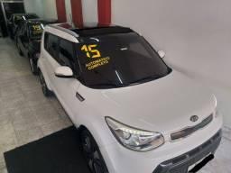 Kia Soul TOP teto 2015  aceito trocas por carro ou moto maior ou menor valor e financio