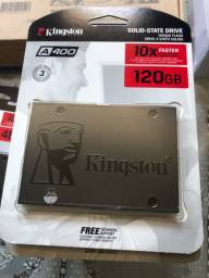 Hd ssd 120Gb Kingston novo lacrado.